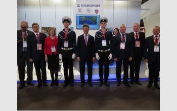 Представители ГУМРФ имени адмирала С.О. Макарова на выставке 'Международная неделя транспорта и логистики' в Париже