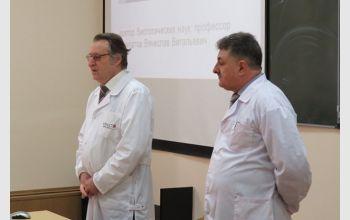 Профессор Алтайского государственного медицинского университета прочитал курс лекций студентам МГТУ
