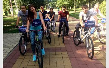 Студенты МГТУ на фестивале энергосбережения «Вместе ярче»