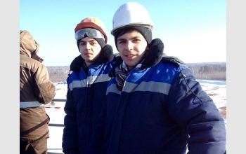 Студенты МГТУ  на космодроме Восточный