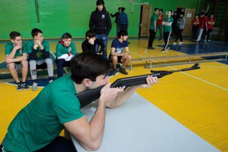 В МГТУ прошёл военно-спортивный конкурс в честь Дня защитника Отечества