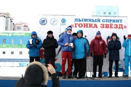 В СВФУ определили сильнейших лыжников в «Гонке звезд»