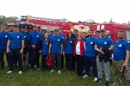 Студенты Добровольной пожарной охраны МГТУ приняли участие в учениях МЧС