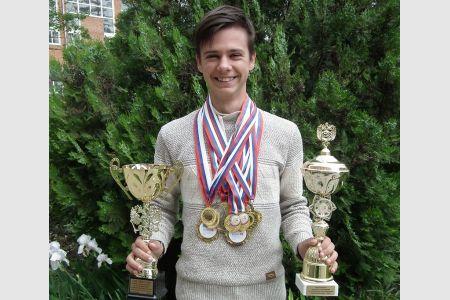 Студент МГТУ стал абсолютным чемпионом в  личном первенстве ЮФО и СКФО по спортивному ориентированию