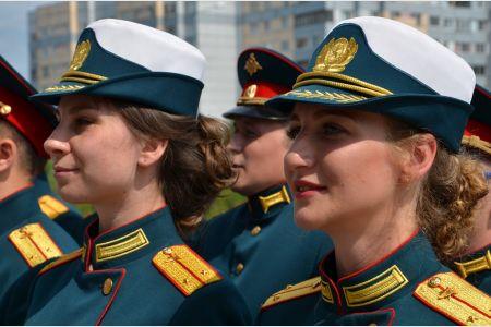 Выпуск лейтенантов учебного военного центра СПбГУТ