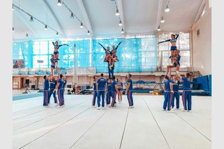 Чирлидеры Крымского федерального университета стали серебряными призерами чемпионата Европы