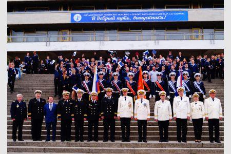 Выпуск молодых специалистов Института «Морская академия» ГУМРФ имени адмирала С.О. Макарова