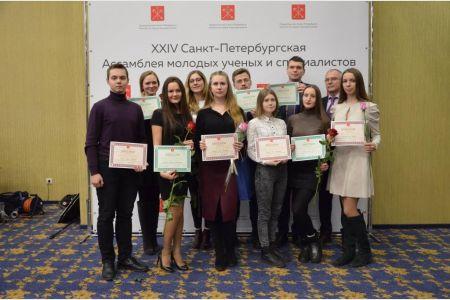 Молодые ученые СПбГУТ получили награды