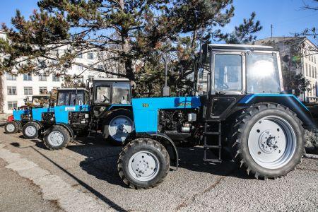 Крымский федеральный университет потратил более 100 млн рублей на сельскохозяйственную технику