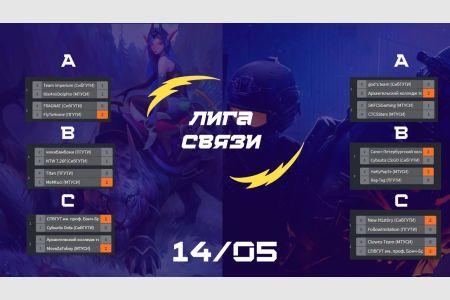 Результаты первых игр группового этапа киберспортивного турнира «ЛИГА СВЯЗИ»